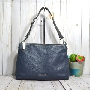 Michael Kors Large Pebbled Leather Hobo Bag